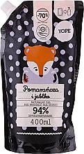 """Parfumuri și produse cosmetice Gel natural de duș pentru copii """"Portocală și Măr"""" - Yope Shower Gel (doypack)"""