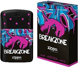 Parfumuri și produse cosmetice Zippo BreakZone for Her - Apă de toaletă