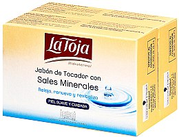 Parfumuri și produse cosmetice Set - La Toja Hidrotermal Toilet Soap With Salt Mineral (soap/2x125g)