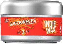 Parfumuri și produse cosmetice Ceară de păr - Wella ShockWaves Indie Wax