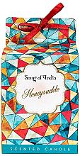 Parfumuri și produse cosmetice Lumânare aromatică - Song of India Honeysuckle Candle
