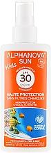 Parfumuri și produse cosmetice Spray cu protecție salară pentru copii - Alphanova Sun Kids SPF 30 UVA