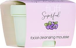 Parfumuri și produse cosmetice Mousse de curățare pentru față - Fluff Facial Cleansing Mousse Wild Blueberry