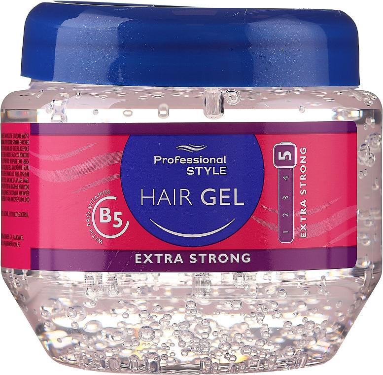 Gel de păr - Professional Style Hair Gel Extra Strong