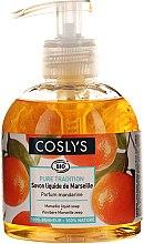 Parfumuri și produse cosmetice Săpun lichid Savon De Marseille cu ulei de măsline și mandarină organică - Coslys Marselle soap Mandarin fragrance