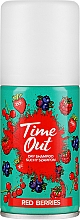 Parfumuri și produse cosmetice Șampon uscat pentru păr - Time Out Dry Shampoo Red Berries