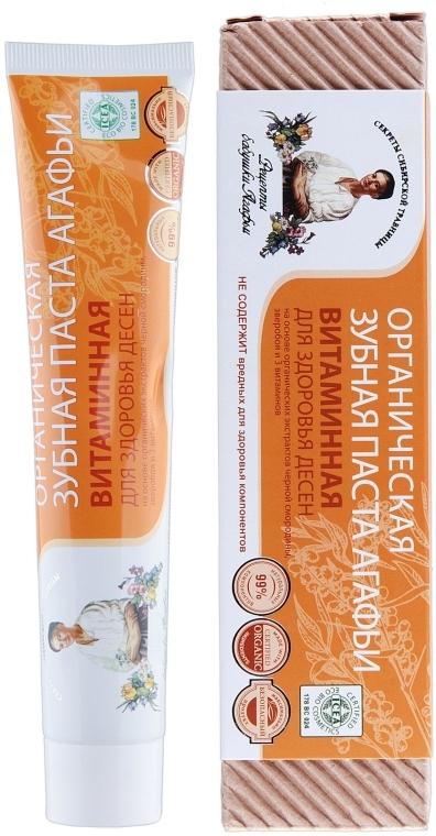 Pastă de dinți, cu vitamine - Reţete bunicii Agafia — Imagine N1