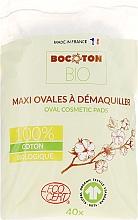 Parfumuri și produse cosmetice Discuri din bumbac pentru copii, 40 bucăți - Bocoton Bio