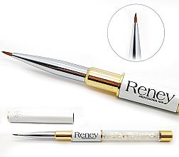 Parfumuri și produse cosmetice Pensulă pentru manichiură - Reney Cosmetics Pro Detailer AN01