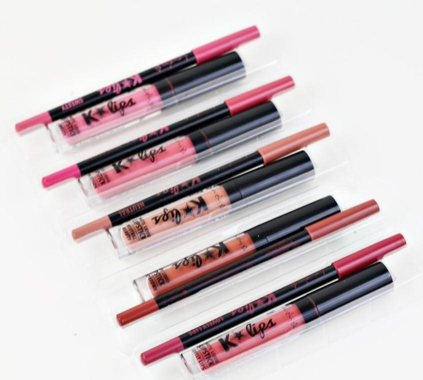 Set pentru buze - Lovely Lip Set K*Lips Candy Shop