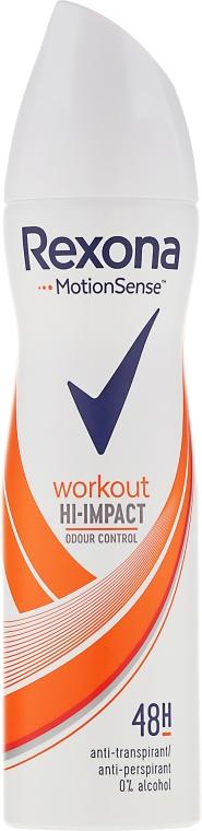 Deodorant-Spray - Rexona Motionsense Workout Hi-impact 48h Anti-perspirant