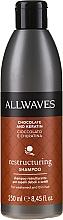 """Parfumuri și produse cosmetice Șampon """"Ciocolată și Cheratină"""" - Allwaves Chocolate And Ceratine Restructuring Shampoo"""