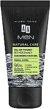 Gel de duș - AA Men Natural Care Cleansing Face Gel — Imagine N1