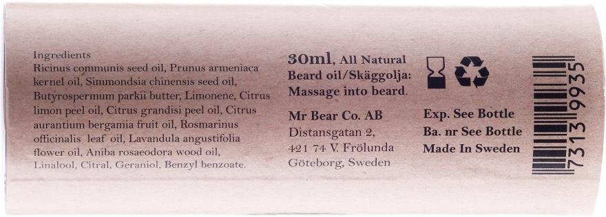 Ulei de ras - Mr. Bear Family Shaving Oil — Imagine N3