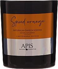 Parfumuri și produse cosmetice Lumânare naturală de soia - APIS Professional Spiced Orange Candle
