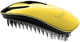 Parfumuri și produse cosmetice Pieptene pentru păr - Ikoo Home Black Soleil Metallic