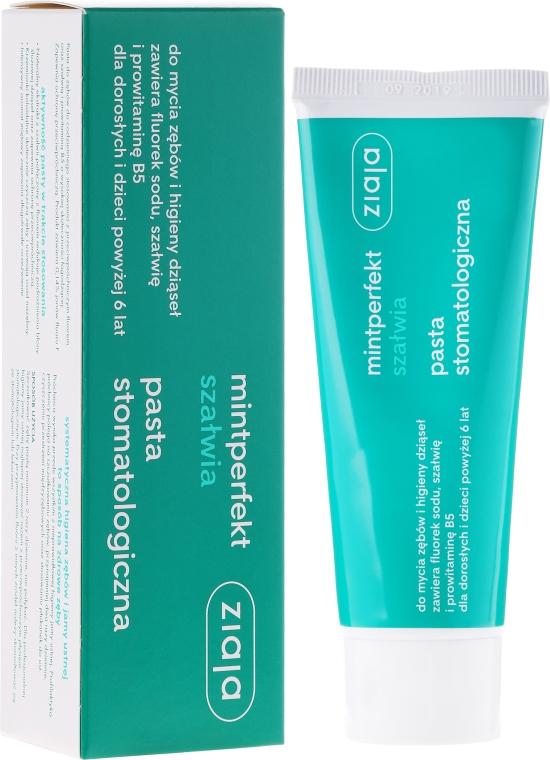 Pastă de dinți - Ziaja Mintperfect