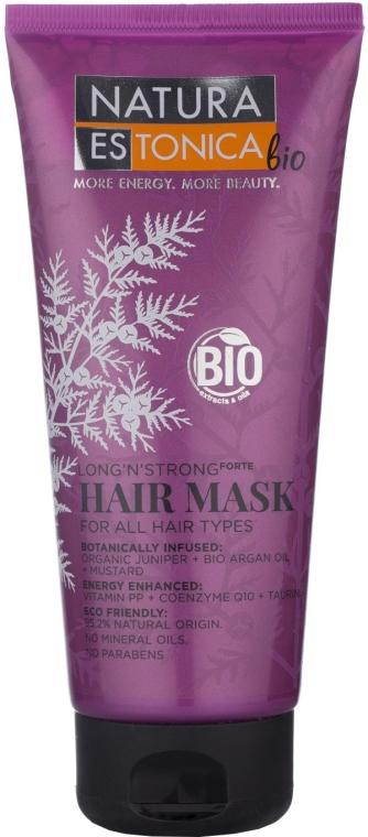 """Mască pentru toate tipurile de păr """"Lungime și putere"""" - Natura Estonica Long'n'Strong Hair Mask"""