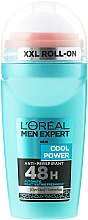 Parfumuri și produse cosmetice Deodorant roll-on - L'Oreal Paris Men Expert Cool Power Deodorant Roll-on