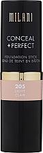 Parfumuri și produse cosmetice Fond de ten - Milani Conceal + Perfect Foundation Stick