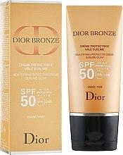 Parfumuri și produse cosmetice Cremă de protecție solară SPF 50 - Dior Bronze Beautifying Protective Creme Sublime Glow