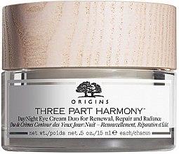 Parfumuri și produse cosmetice Cremă de zi/noapte pentru zona ochilor - Origins Three Part Harmony Day and Night Eye Cream Duo
