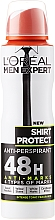Parfumuri și produse cosmetice Deodorant- antiperspirant pentru bărbați - L'Oreal Paris Men Expert Shirt Protect