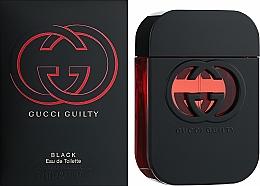 Gucci Guilty Black Pour Femme - Apă de toaletă — Imagine N2
