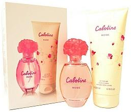 Parfumuri și produse cosmetice Gres Cabotine Rose - Set (edt/100ml + b/lot/200ml)