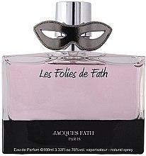 Parfumuri și produse cosmetice Jacques Fath Les Folies de Fath - Apă de parfum
