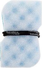 Parfumuri și produse cosmetice Burete de baie, albastră - Suavipiel Black Aqua Power Massage Sponge
