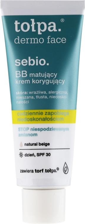 Cremă BB - Tolpa Dermo Face Sebio. BB Cream — Imagine N3