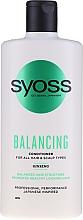 Parfumuri și produse cosmetice Balsam cu ginseng pentru toate tipurile de păr și scalp - Syoss Balancing Ginseng Conditioner