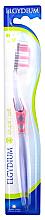 "Parfumuri și produse cosmetice Periuță de dinți ""Interactive"" moale, roz - Elgydium Inter-Active Soft Toothbrush"