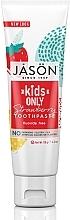 """Parfumuri și produse cosmetice Pastă de dinți pentru copii """"Căpșuni"""" - Jason Natural Cosmetics Kids Only Toothpaste Strawberry"""