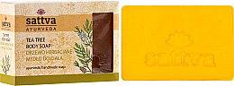 Parfumuri și produse cosmetice Săpun - Sattva Hand Made Soap Tea Tree