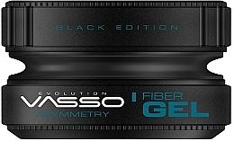 Parfumuri și produse cosmetice Gel de păr - Vasso Professional Hair Styling Wax Fiber Gel Black Edition Asymmetry