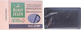 Parfumuri și produse cosmetice Săpun dermatologic cu cărbune activ - Bialy Jelen Apteka Alergika Soap