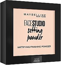 Parfumuri și produse cosmetice Pudră matifiantă pentru față - Maybelline Facestudio Setting Powder