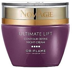 Parfumuri și produse cosmetice Cremă-lifting de noapte - Oriflame NovAge Ultimate Lift Contour Define Night Cream
