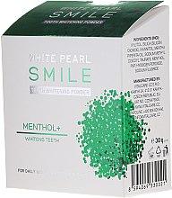 Parfumuri și produse cosmetice Praf cu efect de albire pentru dinți - VitalCare White Pearl Smile Tooth Whitening Powder Menthol+