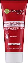 Parfumuri și produse cosmetice Cremă pentru mâini - Garnier Intensive Care Very Dry Skin Regenerating Hand Cream