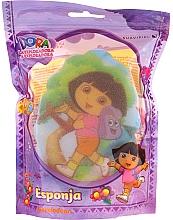 """Parfumuri și produse cosmetice Burete de baie pentru copii """"Dora"""", 169-10, galbenă - Suavipiel Dora Bath Sponge"""