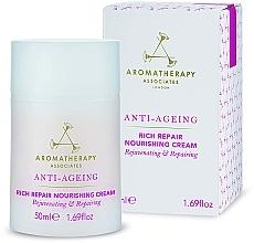 Parfumuri și produse cosmetice Cremă facială anti-îmbătrânire - Aromatherapy Associates Anti-Ageing Rich Repair Nourishing Cream