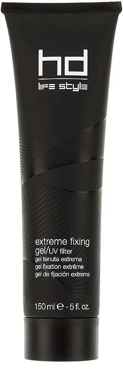 Gel pentru fixație puternică și filtru UV pentru păr - Farmavita HD Extreme Fixing Gel/UV Filter — Imagine N1