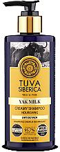 Parfumuri și produse cosmetice Cremă-șampon de păr - Natura Siberica Tuva Siberica Yak Milk Nourishing Bio Cream-Shampoo