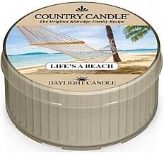 Parfumuri și produse cosmetice Lumânare aromată - Country Candle Life's A Beach Daylight