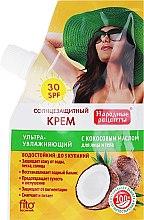 Parfumuri și produse cosmetice Cremă de protecție solară SPF30 - FitoKosmetik Rețete populare