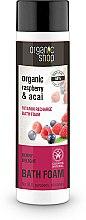 Parfumuri și produse cosmetice Spumă de baie, cu zmeură și acai Berry - Organic Shop Organic Acai and Raspberry Berry Bath Foam