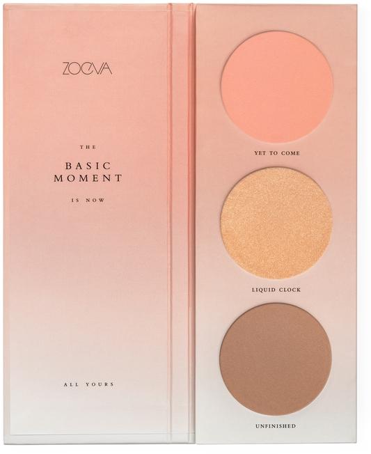 Paletă fard de obraz - Zoeva The Basic Moment Blush Palette — Imagine N1